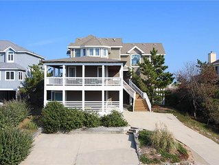 #VOH10: OCEANFRONT in Corolla w/Private Pool, HotTub & PoolTable