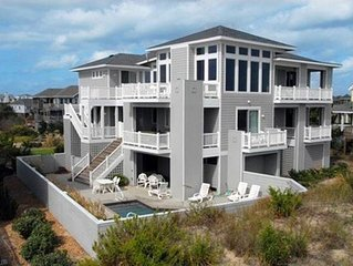 #417: OCEANFRONT w/HeatedPool & HotTub, Elev. & RecRm w/PoolTbl