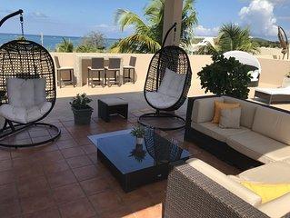 Luxury, 2-Level, Oceanfront Penthouse Villa, Breathtaking Views