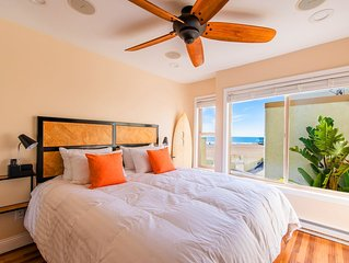 Luxury Beach Front Surf Condo ► Private Patio ► BBQ ► Parking ► Wifi ► Laundry ►