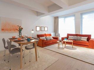 Stassart IV - Deux Chambres Appartement, Couchages 4