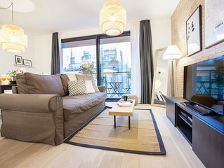 Belliard II - Une Chambre Appartement, Couchages 4