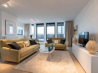 Stassart VI - Trois Chambres Appartement, Couchages 6