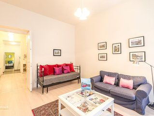 Luxury, spacious, comfortable apartment in the heart of Budapest
