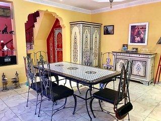Superbe Villa  'DAR NAOUAR' centre ville d'Agadir