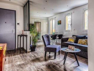 Bel  Appartement 2 pièces en Centre Ville de Menton