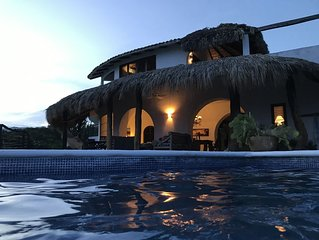 Private Cliffside Villa on the Oaxacan Coast with Unforgettable Views