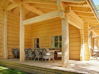 Beautiful luxury wood cabin in southern Sweden