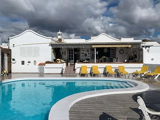 Villa Vispera - Luxury Detached 3 Bedroom Villa Tias, Sea Views, Private Pool.