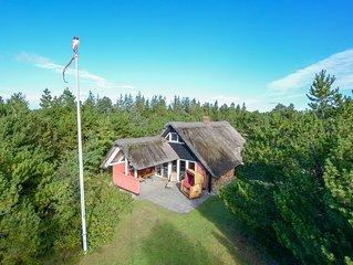 Kinderfreundliches reetgedecktes Ferienhaus auf gr. Naturgrundstück von privat