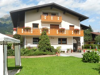 Apartment with 4 edelweiss excellent for 2-4 persons in courts in Reutte