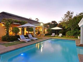 Very Exclusive Upmarket Self Catering Villa with a pristine garden