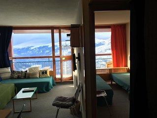 Arcs 1800 The residence Nova, 2 room apartment to the slopes, max 6 people