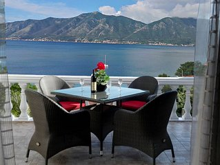 Luxury Penthouse Apartment With South Facing Views Over Kotor Bay