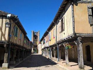 Gascony - Historic Tillac - Village Centre Apartment