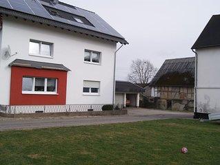 Ferienwohnung mit Panoramablick  fur 2 - 5 Personen  W-lan gratis