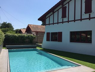 Au Moulleau, très agréable maison de vacances entièrement rénovée en 20