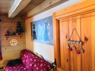 Apartment at the heart of the resort of Sainte-Foy