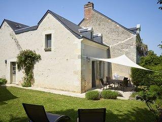 The Blue Bee - *** house - 4/6 people - Azay-le-Rideau