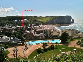 Charm and ideal location in Etretat à 50 m from the Sea !