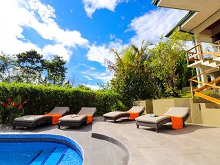 NATURE LOVERS DREAM! OCEAN VIEW, WILDLIFE IN YOUR GARDEN, PRIVATE POOL
