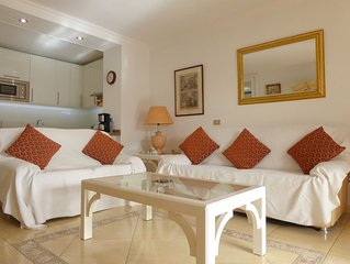 Prime location, bright well equipped apartment, spacious sunny patio