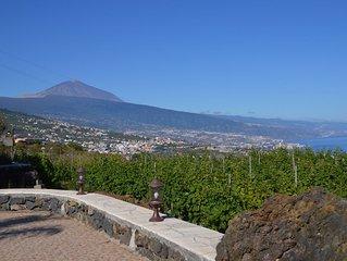 Duplex  con magnificas vistas al mar y montaña en Finca  con bodega propia