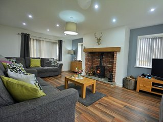 Luxurious, stylish and cosy detached property