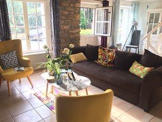 Maison chaleureuse dans village de pecheurs- Proche Mer - Jumelee ref ********