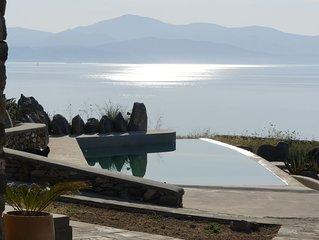 villa Todah Golden Beach: magnifique villa d'architecte vue sur mer avec piscine