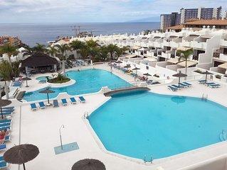 Duplex, WIFI , heated pool, vigilancia  privada, Playa Paraiso, Costa Adeje