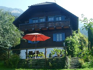 Beautiful Traditional Chalet in National Park Hohe Tauern for Mountain Holidays.