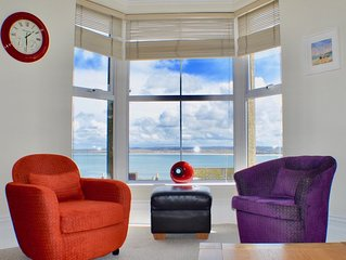 Availability 22-29th June-6-13July 5*Amazing Sea Views, Sleeps 4, 1 car parking