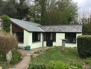 Detached, Single Story Garden Cottage, In Quiet Countryside On Exmoor's Edge