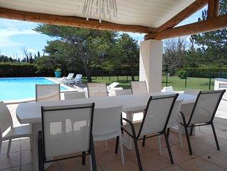 contemporary villa 12 percent - close to Avignon and L'Isle sur la Sorgue