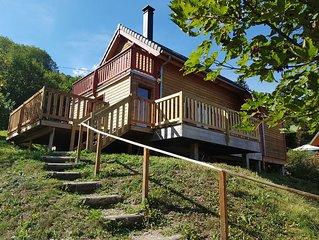 CHALET Le Mont Dore Auvergne 3 stars Thermauvergne.