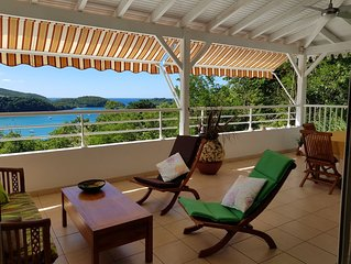 MAGNIFICENT AND QUIET COMFORT FOR THIS TOP OF DOMINANT VILLA L'ANSE A L'ANE