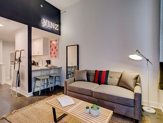 Distinctive Downtown Digs Studio with Gym
