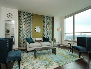 Exquisite 1BR w Pool + Gym Near Downtown