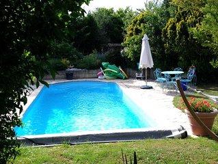 Chambres d'hôtes avec piscine privative situées en région centre près de Beaune