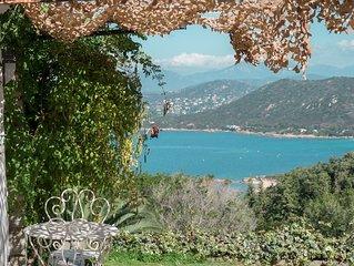 Coti Chiavari: Rez de villa F4 proche de la superbe plage de mare e sole
