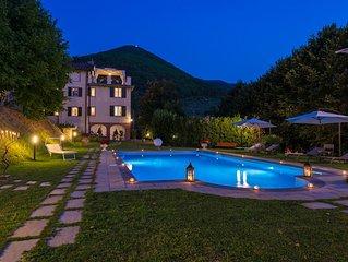 Villa Brancoli, Campagna Lucchese - 10pax