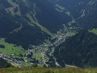 Studio ideally located in front of the Linga slopes and the ski lifts