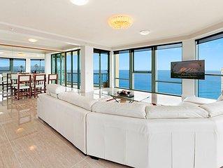 Surfers Paradise Luxury Apartment Ocean Front Panorama