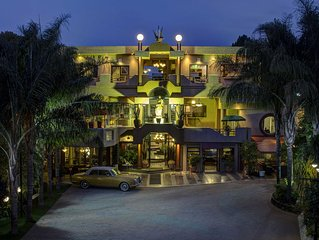 16 Themed Suites - From Marrakesh to Moulin Rouge...