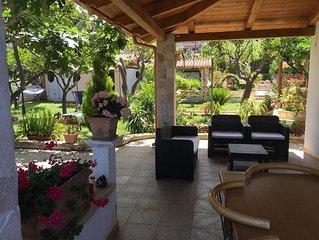 Villa al mare(on Michelino beach)  in residence 'Villa Giulia'