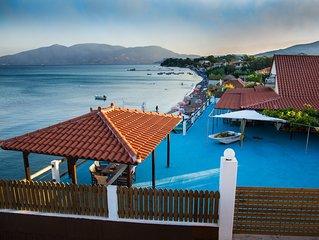 Villa Mare in Laganas, Private entrance to beach, BBQ, amazing view