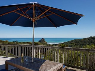 Piha presents this private picturesque getaway.