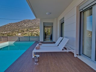 Asterios Villa | Walking distance to the beach | Top Design | Private Pool