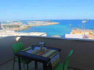 Vista mare sul Golfo dell'Asinara